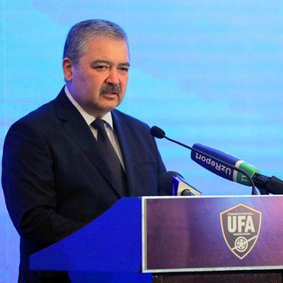 Azizov Abdusalom Abdumavlonovich - O'FA Prezidenti